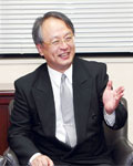 Yu Fukui, President and Chair of the Board
